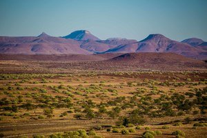 view of damaraland namibia