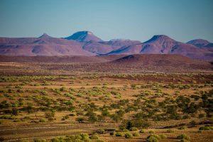view of damaraland namibia