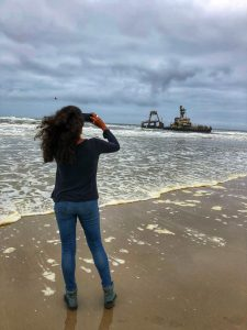 skeleton coast ship wreck