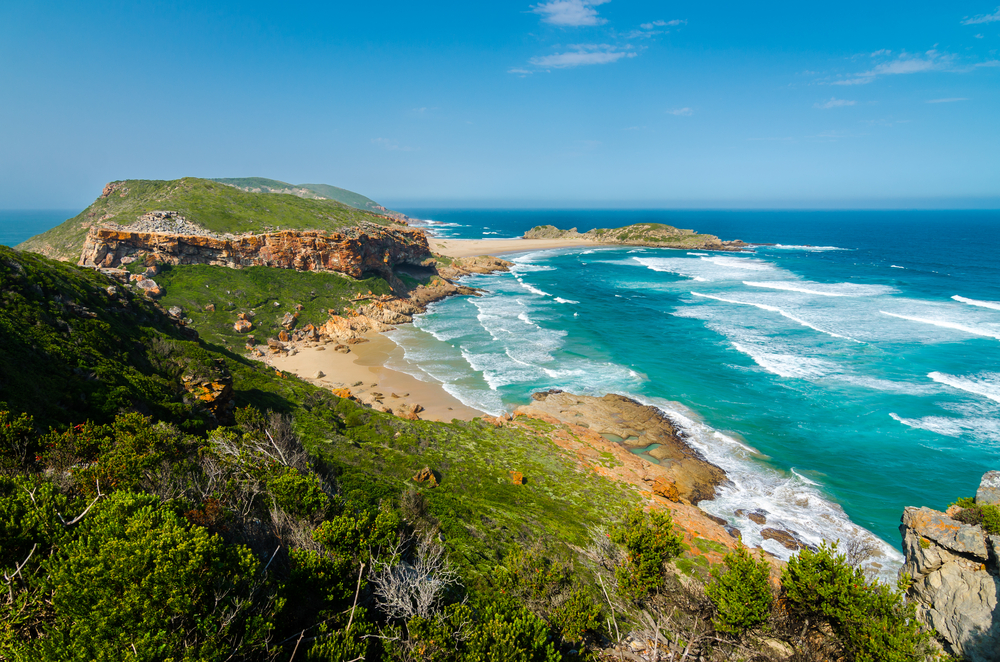 Robberg Beach in Plettenberg Bay